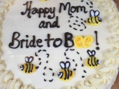 Bride To Bee Cake